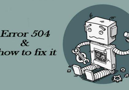 ارور-504-و-نحوه-رفع-آن